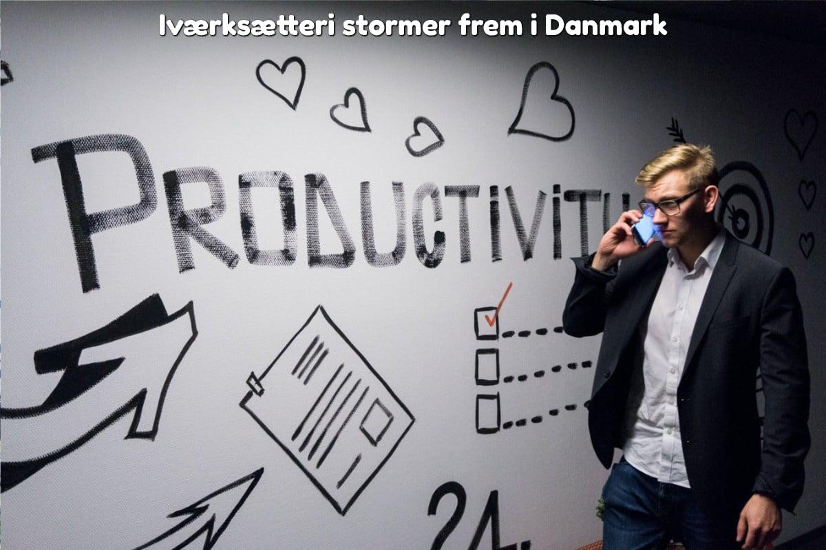 Iværksætteri stormer frem i Danmark